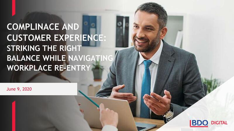 Compliance and Customer Experience
